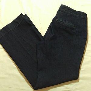 LOFT Wide Leg Jeans
